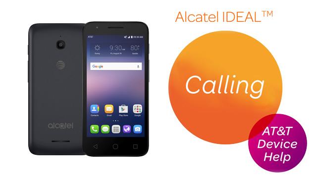 Alcatel IDEAL (4060A) - Make & Receive a Call - AT&T