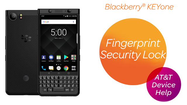 BlackBerry KEYone (BBB100-1) - Secure My Device - AT&T