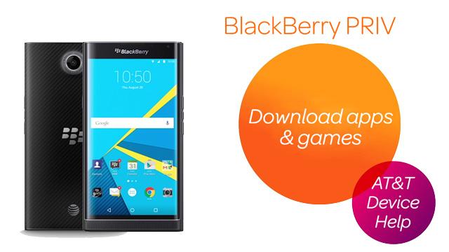 BlackBerry PRIV by BlackBerry (STV100-1) - Download apps & games - AT&T