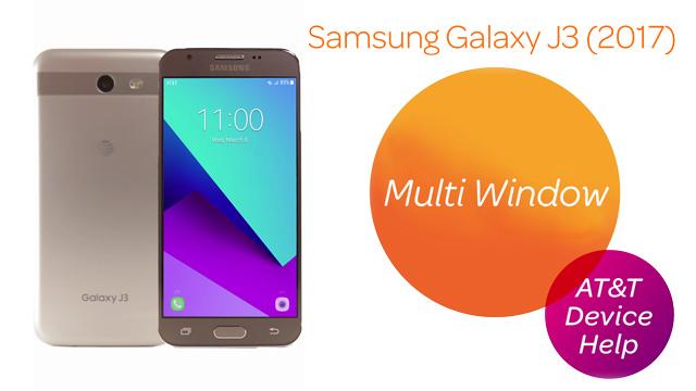 Samsung Galaxy J3 (2017) (J327A) - Multi Window - AT&T