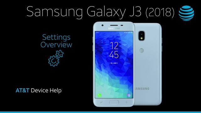 Samsung Galaxy J3 (2018) (J337A) - Device Setup - AT&T