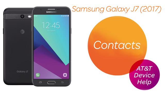 Samsung Galaxy J7 (J727A) - Contacts - AT&T
