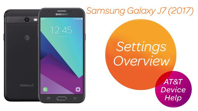 Samsung Galaxy J7 (J727A) - Device Setup - AT&T