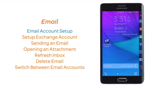 Samsung Galaxy Note Edge (N915A) Support Videos - AT&T
