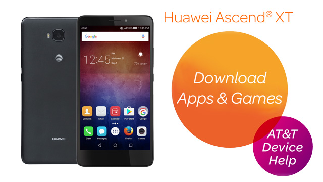 Huawei Ascend XT (H1611) - Download Apps & Games - AT&T