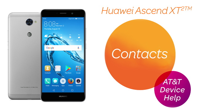Huawei Ascend XT2 (H1711) Device Help & How-To Guides - AT&T