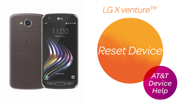 LG X venture (H700) - Reset Device - AT&T