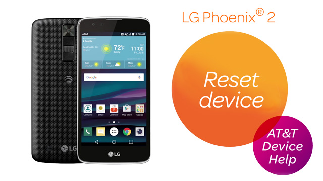 LG Phoenix 2 (K371) - Reset Device - AT&T
