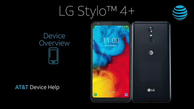 LG Stylo 4+ (LM-Q710WA) Device Help & How-To Guides - AT&T