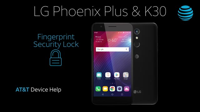 LG Phoenix Plus / K30 (LM-X410AS) - Secure My Device - AT&T