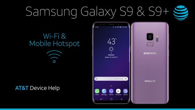 Samsung Galaxy S9 / S9+ (G960U/G965U) - Mobile Hotspot - AT&T
