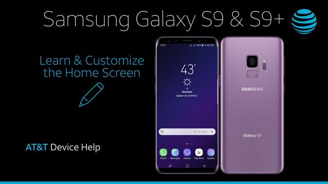 Samsung Galaxy S9 / S9+ (G960U/G965U) - Learn & Customize the Home