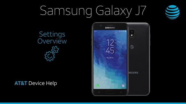 Samsung Galaxy J7 (2018) (J737A) - Device Setup - AT&T