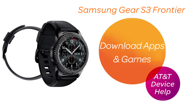 Samsung Gear S3 frontier (R765A) - Download Apps & Games - AT&T