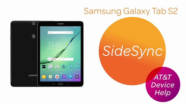 Samsung Galaxy Tab S2 9 7 (T817A/T818A) - SideSync - AT&T