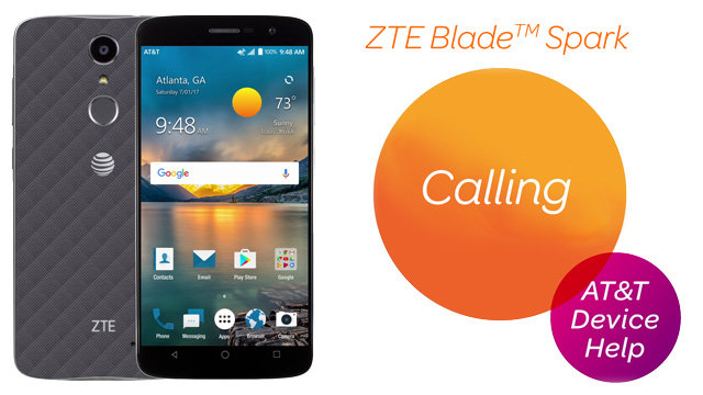 ZTE Blade Spark (Z971) - Make & Receive a Call - AT&T